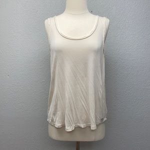 Ripcurl open back muscle tee   M
